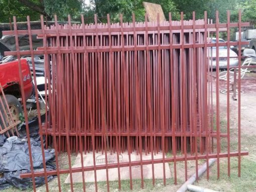 Pre-fabricated Metal Fence