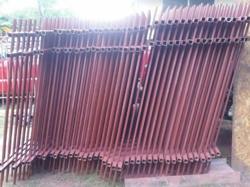 Metal Fence Panels Houston Pre Fabricated Metal Fence