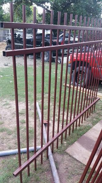 Steel Fence Panels Houston | Wrought Iron Fencing | Bulk Sale